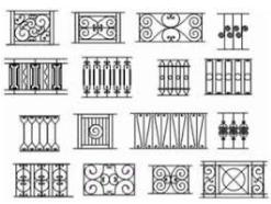 gambar motif pagar besi