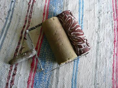 rullo decorativo, vintage, pareti, starinski reljefni valjci za moleraj, mustre