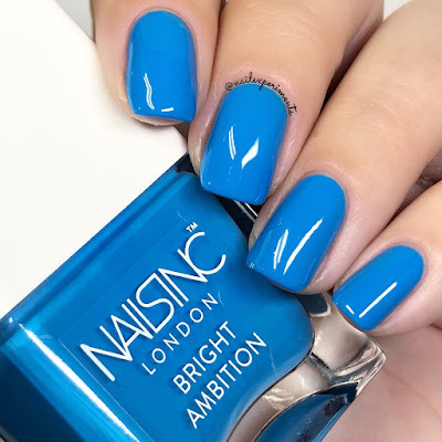 nails inc not invited bright ambition summer 2018 swatches