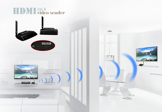 300 meter wireless HDMI TV sender