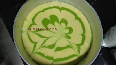 Projek Kek Butter Pelangi