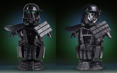 Star Wars Rogue One Death Trooper Specialist Classic Mini Bust by Gentle Giant