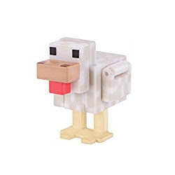 Minecraft Series 3 Chicken Overworld Figure