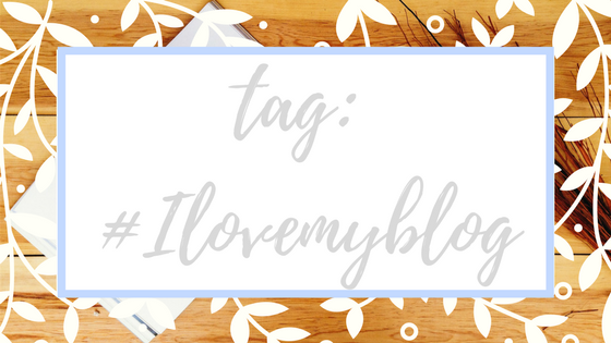 TAG: I love my blog - Tamaravilhosamente