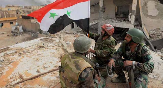 El Ejército sirio avanza en cuatro frentes de combate