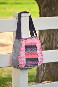 Large Rag purse patterns