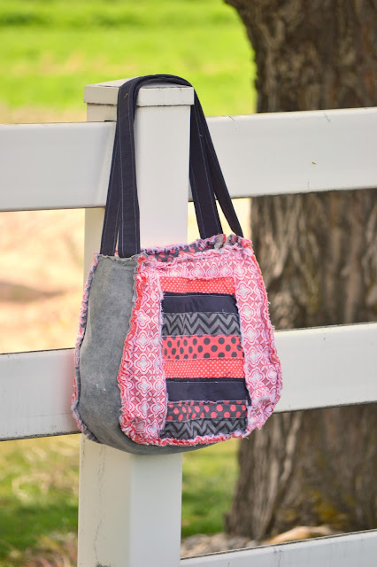 Large Rag purse patterns