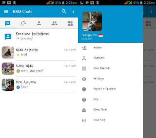 BBM Official Mod v3.3.4.48 Load Font Clone Terbaru