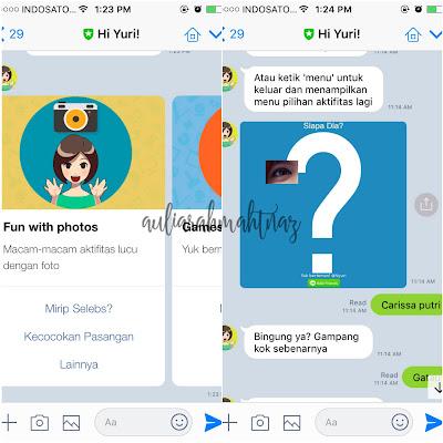 Rekomendasi Chatbot Line Hi Yuri