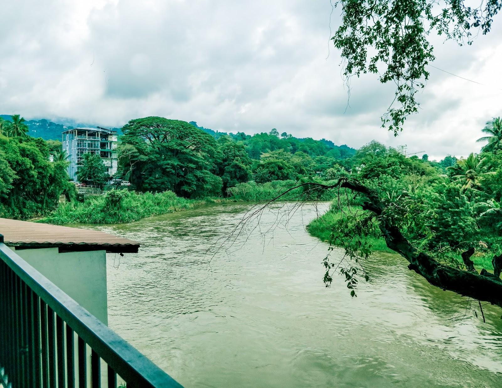 View from Hotel Ganga Addara, Kandy, Sri Lanka