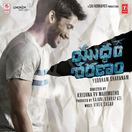 Yuddham-Sharanam, naga chaithanya, new look, poster, wallpaper, cd front cover.