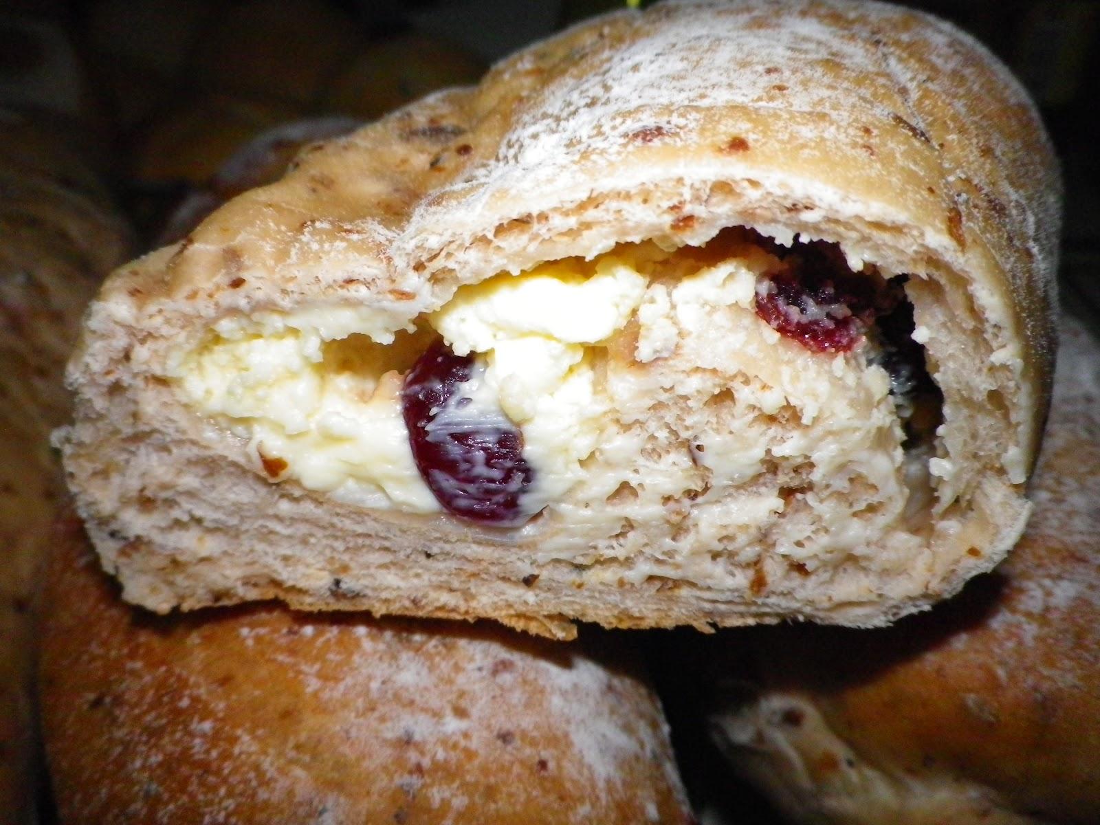 小香生活小事: 玫瑰乳酪麵包2