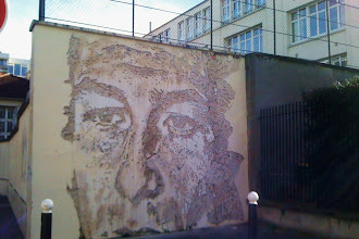 Sunday Street Art : Vhils - rue du Château des Rentiers - Paris 13