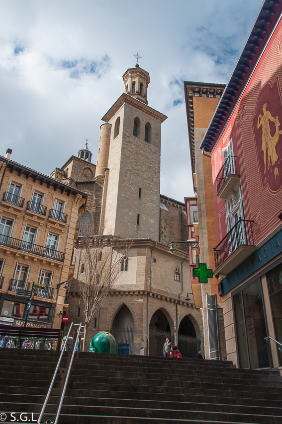 Iglesia de San Saturnino en Pamplona. Pamplona mucho mas que Sanfermines