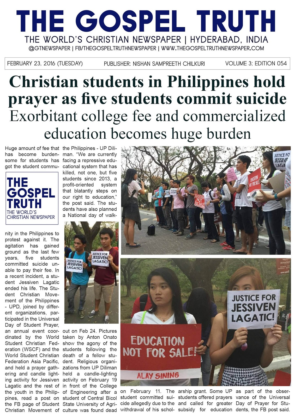 sample essay for student