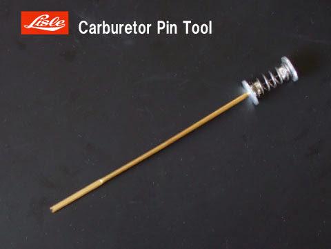 ライルのキャブレター ピン ツール