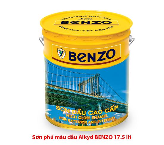 Sơn phủ màu Alkyd Benzo