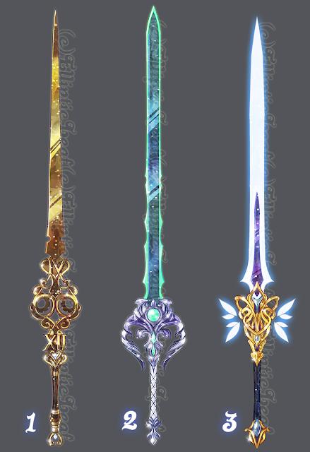 Você também poderia criar uma história colocando algumas destas armas como foco principal.