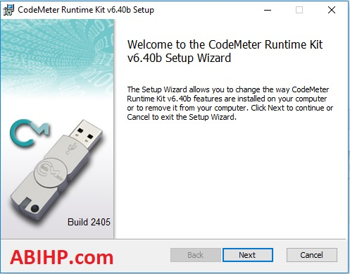 Instal Code Meter
