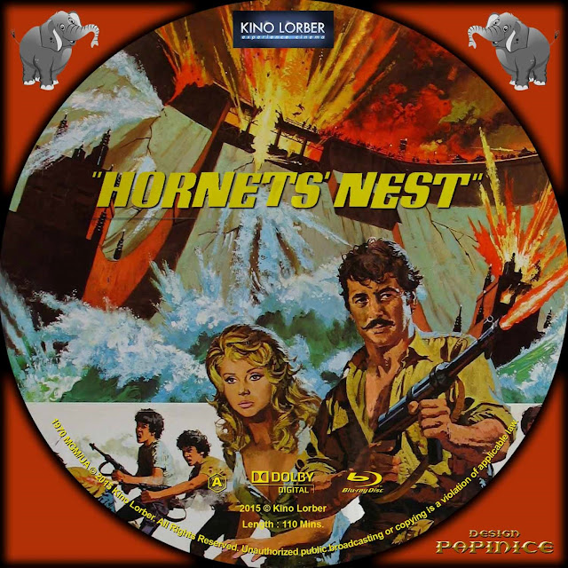 Hornets' Nest (1970) Bluray Label