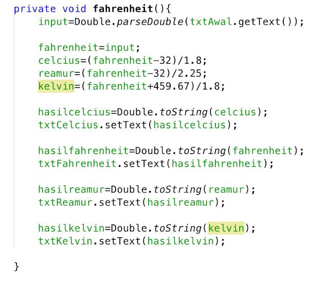 Membuat Aplikasi Konverter Suhu dengan Java Netbeans