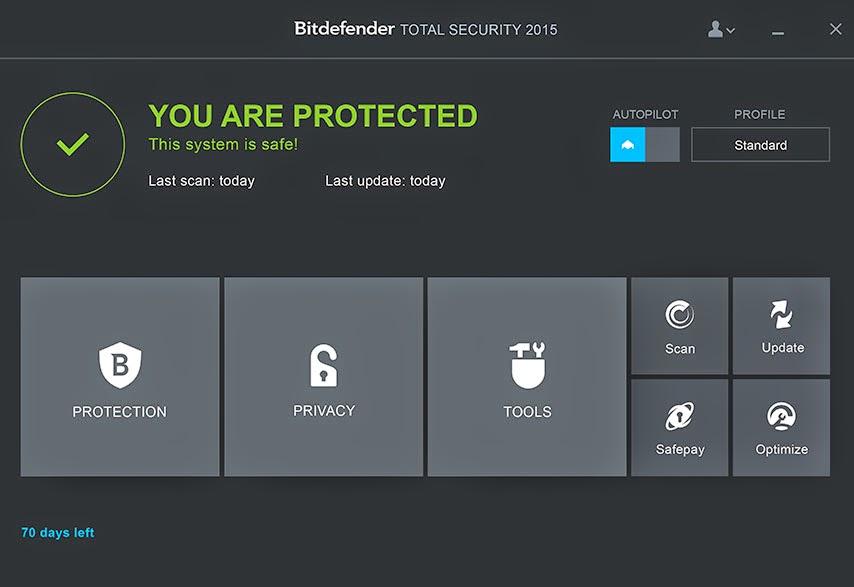 تحميل برنامج بيتدفيندر للحماية الشاملة من الفيروسات أحدث إصدار Bitdefender Total Security 2015 FINAL