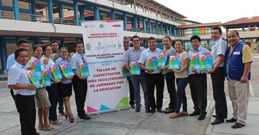 CNE: Más de mil facilitadores listos para consulta por Proyecto Educativo Nacional - www.cne.gob.pe
