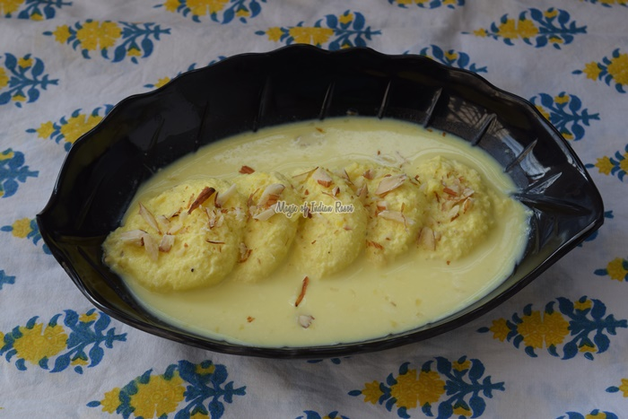 Perfect Rasmalai - Bengali Ras Malai - Magic of Indian Rasoi-Priya R