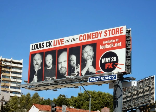 Louis CK Live Comedy Store billboard