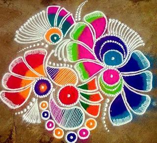 Deepavali Rangoli Design Images
