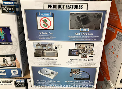 Costco 1172285 - Night Owl DVR-XHD50B-82: for more safety and peace of mind