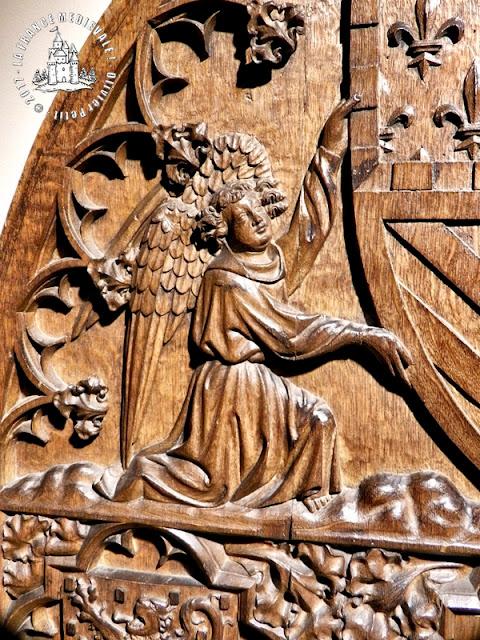 DIJON (21) - Musée des Beaux Arts : Dossier de Chaire de Jean Sans Peur