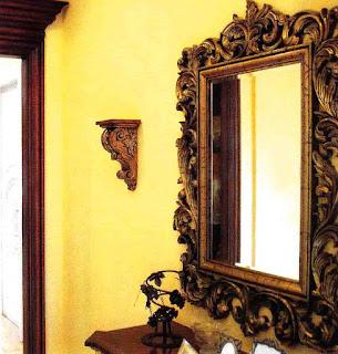 Bingkai Cermin Antik