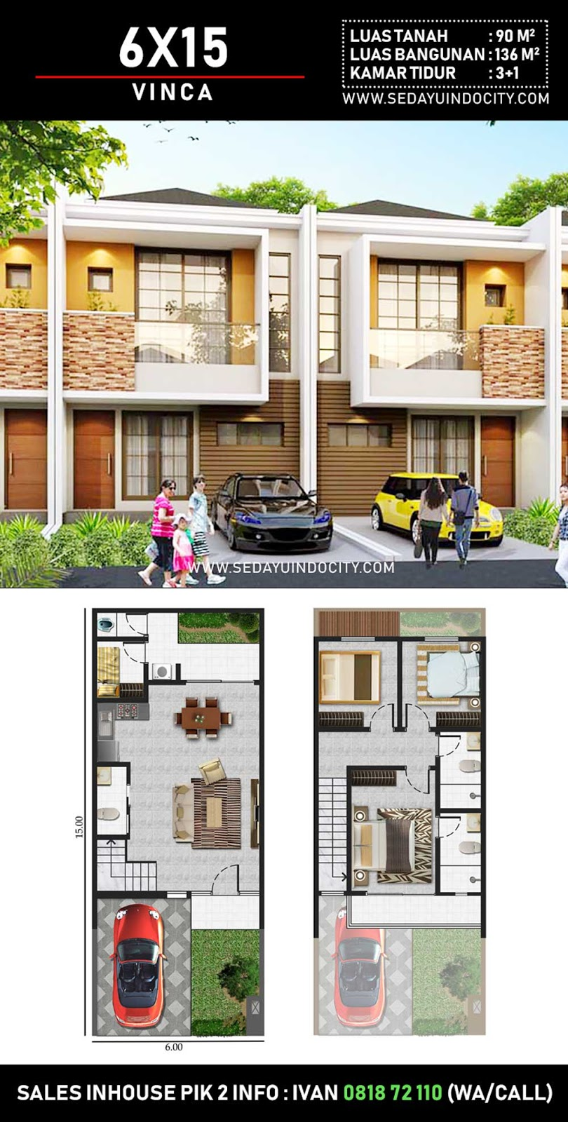 Cluster Arcadia Pik 2 Sedayu Indo City Official By Agung Sedayu Group