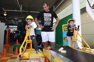 Gilles Muller Having Lovely Time With His Kids