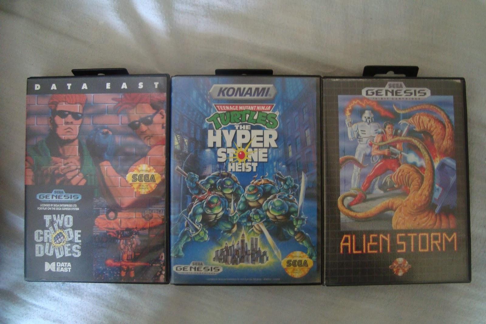 Darkshop A La Venta 3 Juegos Arcadia Para Sega Genesis