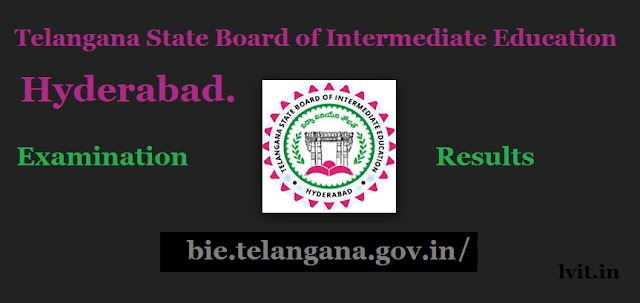 bie.telangana.gov.in Telangana state board of intermediate education hyderabad