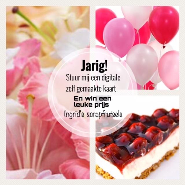 Verjaardagscandy bij Ingrid