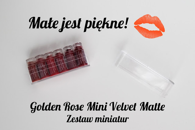 Golden Rose Mini Velvet Matte