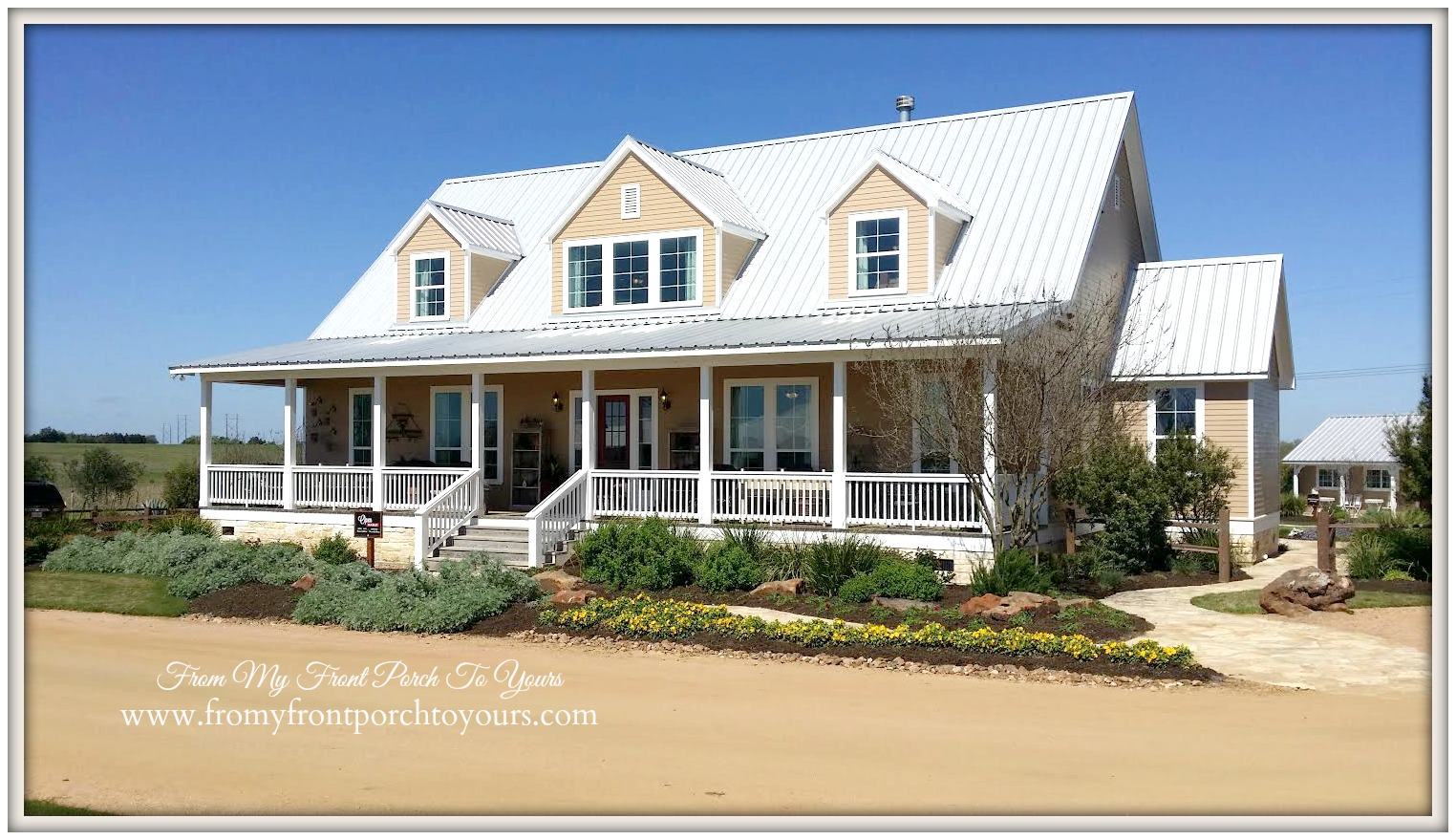 From my front porch to yours farmhouse love for Large farmhouse house plans