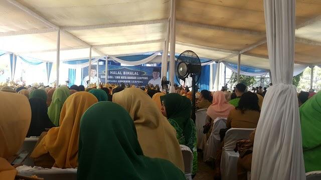 Halal Bi Halal Guru SMA/SMK Kota Bandar Lampung bersama Gubernur Lampung