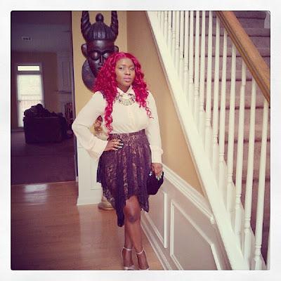 halima abubakar red hair