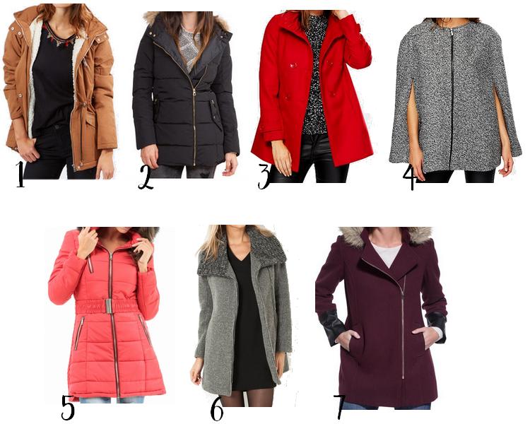 Sélection de manteaux pour cet hiver