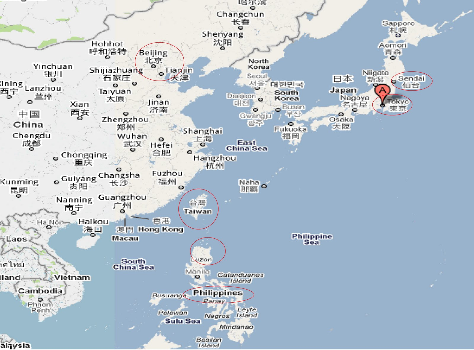 frances relationship with neighboring countries of japan