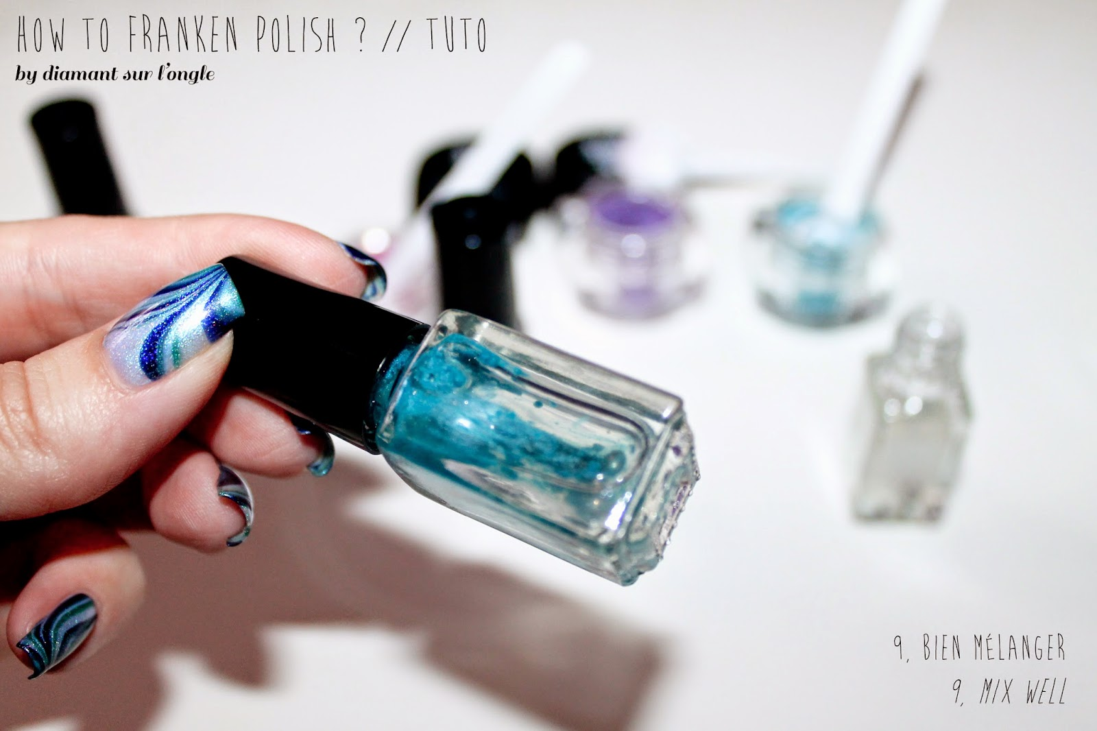 tutorial : how to do franken polish