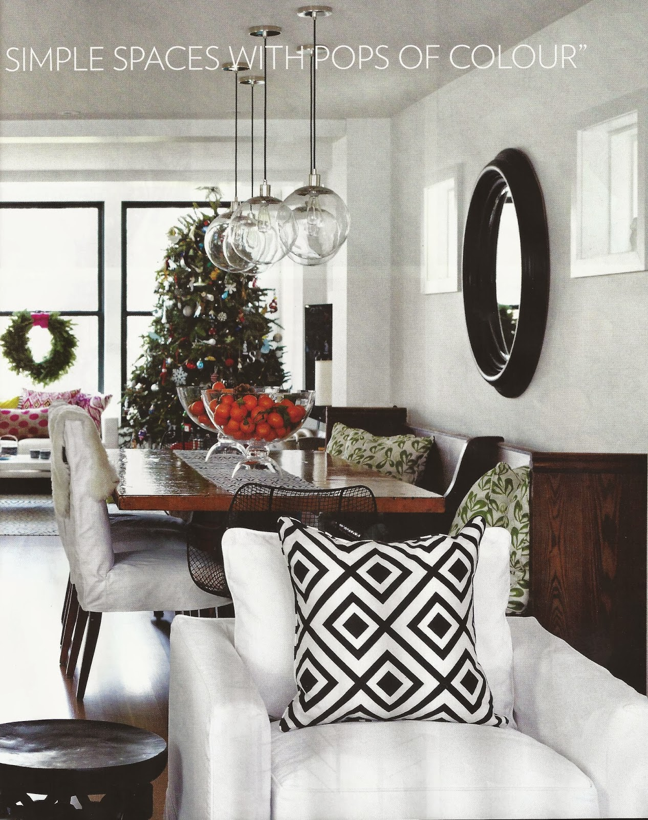 Inspired Whims Christmas Tour Of Jennifer Worts Toronto Home
