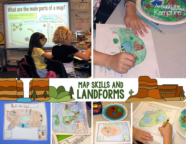 Map skills and landforms