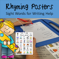Rhyming Posters for Writing Teach Magically