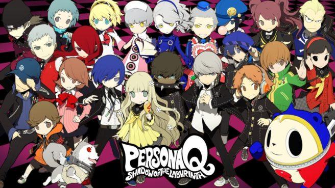 Se rumorea secuela de Persona Q para Nintendo Switch o 3DS, registro de dominio pq2