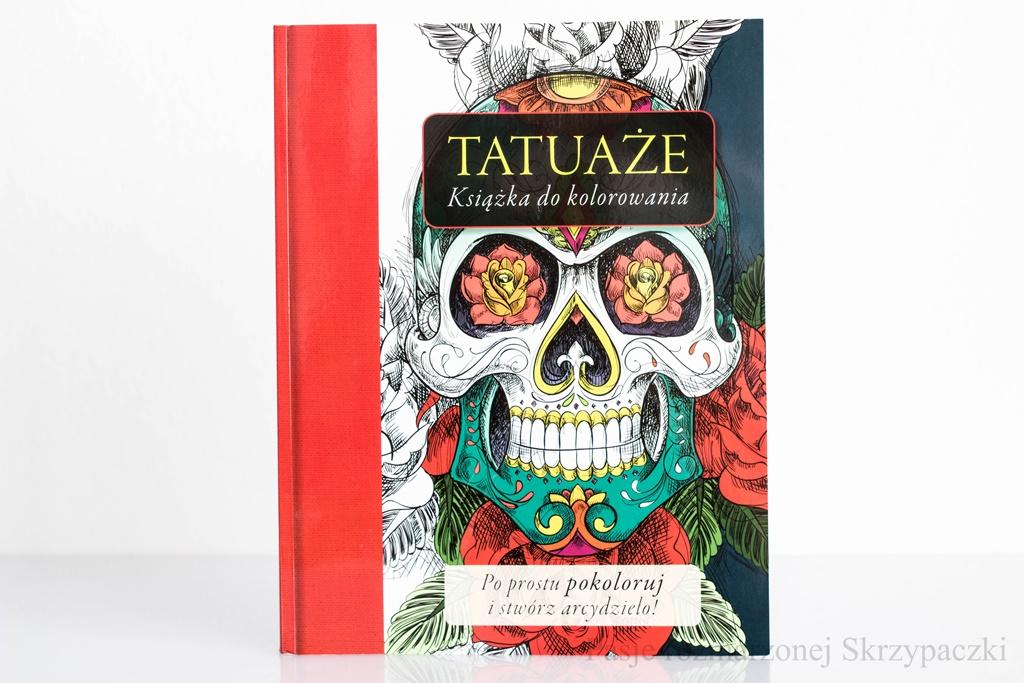 Ruda Maruda Wydawnictwo Kaktus Tatuaże Książka Do Kolorowania